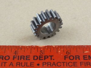 Very Nice Orig Logan 9 10 Lathe 18 Tooth Threading Change Stud Gear 5 8 Bore