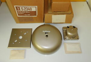 Vintage 8 Nutone Fire Alarm Bell S 2340 Only One On Ebay still New In Box