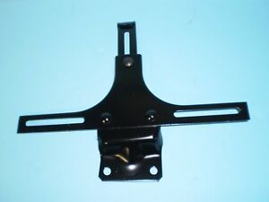 1933 1934 1935 1936 Ford Car And Truck Front License Plate Bracket Black