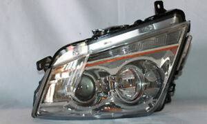 2008 2013 Cadillac Cts Cts V Rh Passenger Side Headlight Complete