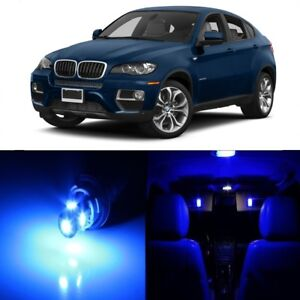 21 X Error Free Blue Led Interior Light Kit For 2008 2015 Bmw X6 Series Tool