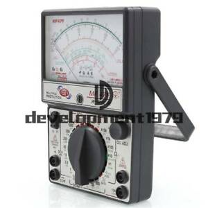 Mf47f Battery Tester Meter Gauge Analog Multimeter Ac Dc Volt ac Dc