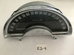 1959 1962 Corvette Speedometer Good Used Condition