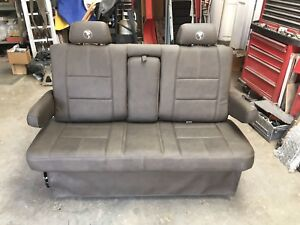 Explorer Van Conversion Rear Sofa