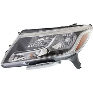 Headlight For 2013 2014 2015 2016 Nissan Pathfinder Left With Bulb