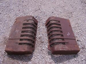John Deere B Styled Tractor Orgnl Jd Front Nose Cone Grill Hood Panel Panels B12