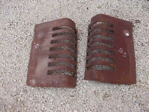 John Deere B Styled Tractor Orignl Jd Front Nose Cone Grill Hood Panel Panels B3