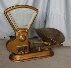 Large Antique Toledo Computing Scale 1906 General Store In Bloomfield Iowa