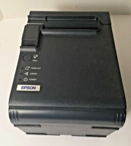 Epson Tm l90 Rj45 Thermal Pos Receipt Label Printer M165b Without Power Supply