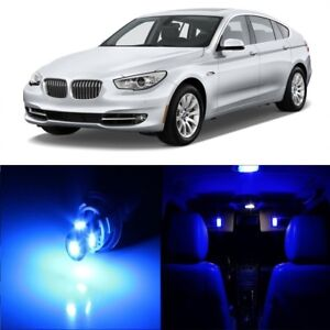 19 X Blue Led Interior Light Package For 2004 2010 Bmw 5 Series M5 Tool