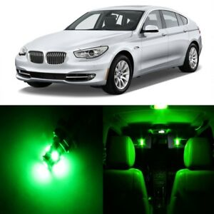 19 X Green Led Interior Light Package For 2004 2010 Bmw 5 Series M5 Tool