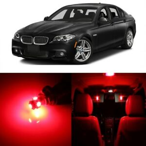 17 X Red Led Interior Light Package For 2011 2016 Bmw 5 Series M5 F10 Tool