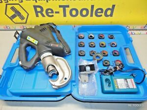 Compression Crimper Dies Thomas Betts Bplt14bscr 14 Ton Crimping Tool Kit