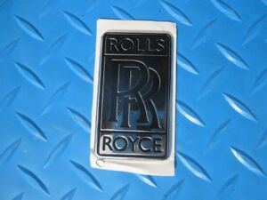 Rolls Royce Phantom Grille Grill Trunk Rr Emblem Badge Oem 4158