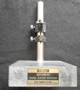 Fowler 52 580 020 Machinist Dial Gauge Stand Indicator Gage Stand