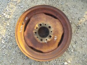Allis Chalmers Wd 45 Wd45 Tractor 4 1 4 X 16 Front Ac Rim To Use With Tire
