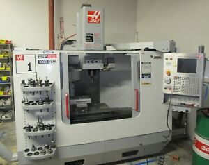 2005 Haas Vf 1d Cnc Vertical Machining Center Vmc W Tooling Very Clean Machine