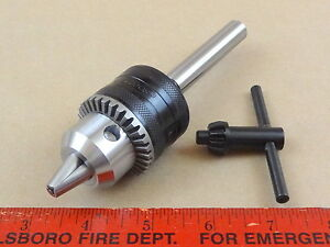 New Genuine Jacobs 1 2 Capacity Drill Chuck 1 2 Diameter Shank Turret Lathe Tool
