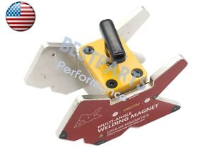 Multi angle 45 60 75 90 105 120 135 magnetic Welding Clamp 265lbs W switch