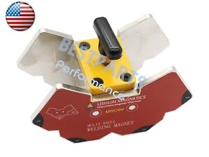 Multi angle 45 60 75 90 105 135 120 magnetic Welding Clamp 265lbs W switch