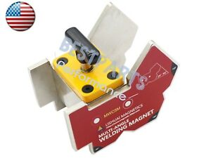 Top Quality Multi angle 135 90 45 magnetic Welding Clamp With Switch 265lbs