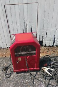 Lincoln Electric Arc Welder Ac 225 Stick Tig W Extra Long Leads