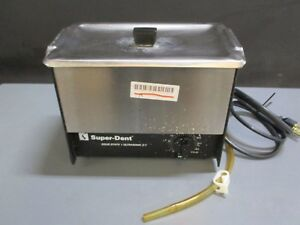Darby Superdent Z 7 Dental Ultrasonic Cleaner Bath For Instrument Cleaning