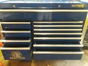 4s Double Bay 25 Matco Rolling Toolbox