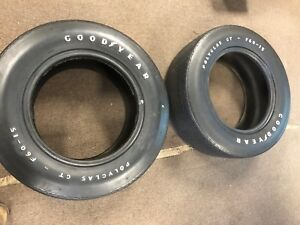 1970 Ford Mustang Boss 302 429 Plymouth Superbird Goodyear Polyglas F60x15 Tires