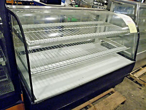 Federal Cgd5942 59 Non Refrigerated Curved Glass Pastry Bakery Dry Display Case