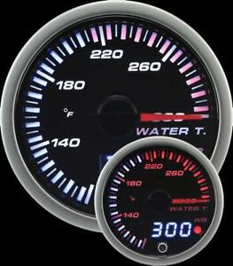 Prosport Universal 60mm Jdm Water Temperature Gauge 80 300f