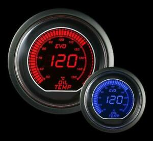 Prosport Universal Evo Metric Series 52mm Oil Temperature Gauge 50 250 C