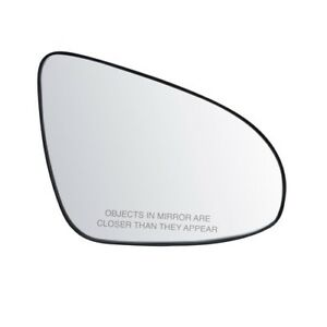 Fits 13 17 Toyota Camry Passenger Side Mirror Glass With Back Plate Heated