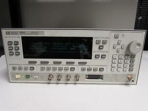 Hp 83623a Synthesized Sweep Signal Generator 10mhz To 20ghz Opt 001