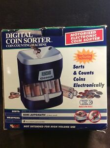 Magnif Digital Coin Sorter Coin Counting Machine
