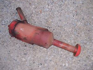 Allis Chalmers Wc Tractor Oil Bath Air Precleaner Assembly Topper Oil Bowl