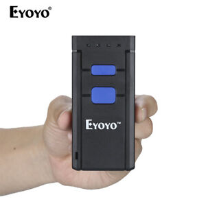 Mj 2877 Eyoyo Portable Wireless Bluetooth Barcode Laser Scanner For Ios Android