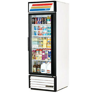 True Gdm 23f 27 Wide Glass Door Freezer Merchandiser Reach In 110v Wht