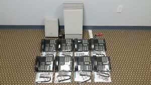 Nortel Mics Office Phone System Package 8 M7310 8 Lines Caller Id Voicemail