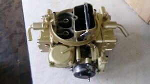 Motor Craft Holley 600 Rebuilt Carburetor 50251 With Live Testing