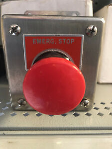 Siemens 52c116s Heavy Duty Push Button Control Station Nema 12 Stainless