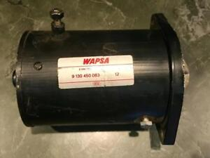 New Western Snow Plow Motor Lift Pump Mkw4009 1981 Up 10712 10725 W 8812 W 8994