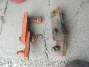 Case Vac14 Vac 14 Tractor Front Cultivator Implement Mounting Brackets Bracket