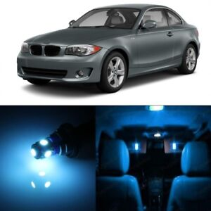 13 X Ice Blue Led Interior Light Package For 2008 2013 Bmw 128i 135i 1m Tool