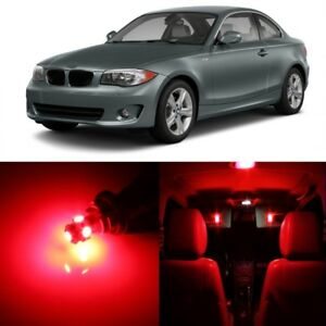 13 X Red Led Interior Light Package For 2008 2013 Bmw 128i 135i 1m Tool