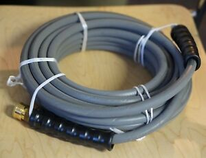 Pressure Washer Hose 3 8 X 50 4000 Psi W Quick Connects Couplers P n 244783