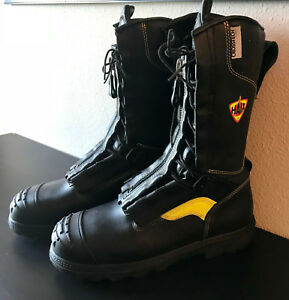 New Men s Haix fire Flash Xtreme 506005 Structural Fire Boots 10 5 W