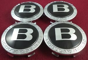 Boss Motorsports Wheels Chrome Black Custom Wheel Center Caps Set Of 4 3251