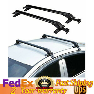 2 Pcs Car Top Roof Rack Bar Cross Bar Carrier With 2 Keys For Nissan Altima New