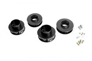Rough Country 2 Suspension Lift Kit Jeep Wj Grand Cherokee 99 04 4wd No Shocks